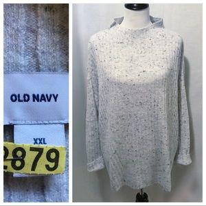 Like New ~ Old Navy Mock Neck Sweater - Size XXL